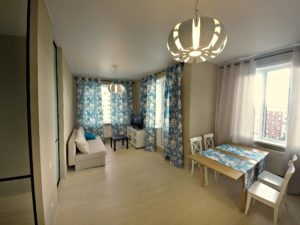Однокомнатная квартира, с перепланировкой